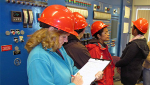 wastewater treatment plant audit