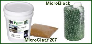 MicroBlock and MicroClear 207 bacterial bio product
